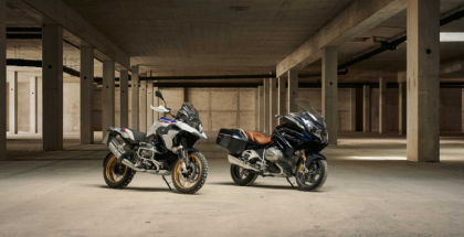 2019 BMW R 1250 GS and the new BMW R 1250 RT