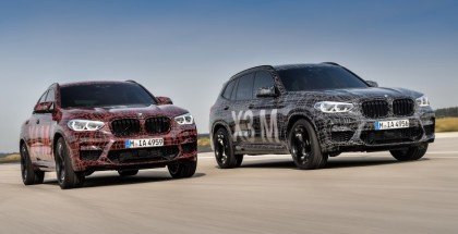 2019 BMW X3M and BMW X4M At Nurburgring