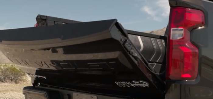2019 Chevy Silverado 1500 Power Tailgate – Video