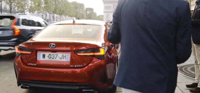 2019 Lexus RC RC300h – Video