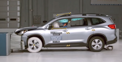 2019 Subaru Ascent Crash Test & Rating