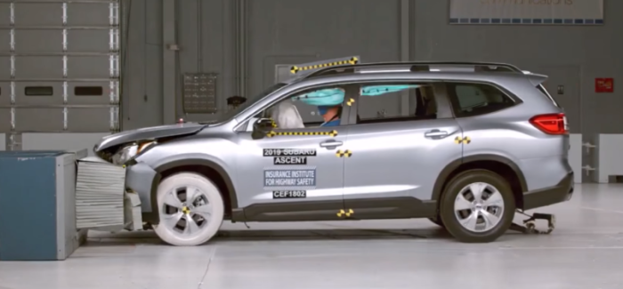 2019 Subaru Ascent Crash Test & Rating – Video
