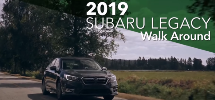 2019 Subaru Legacy Features