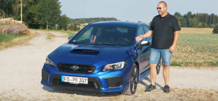 2019 Subaru WRX STI Review – German – Video