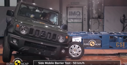 2019 Suzuki Jimny, VW Touareg, Audi A6 Crash Test & Rating