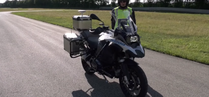 BMW Motorrad Self Driving BMW R1200GS – Video