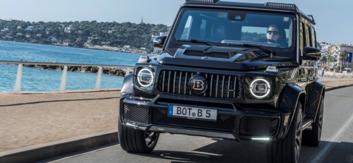 Brabus 700 Widestar Based On Mercedes AMG G63s – Video
