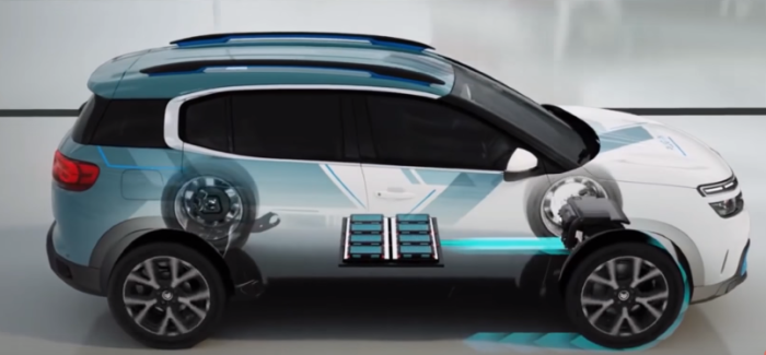 Citroen C5 Aircross PHEV Concept – Video