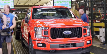 Ford Rouge Legendary Factory Featuring F150 Truck