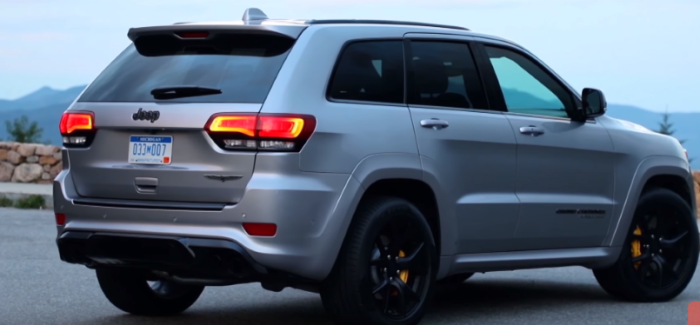 Jeep Grand Cherokee Trackhawk 2019 – Video