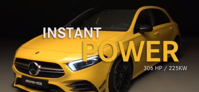 Mercedes AMG A35 4MATIC 2019 – Video