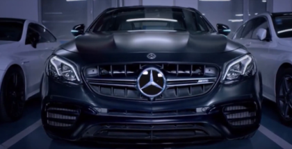 Mercedes E63 s Automated Valet Parking