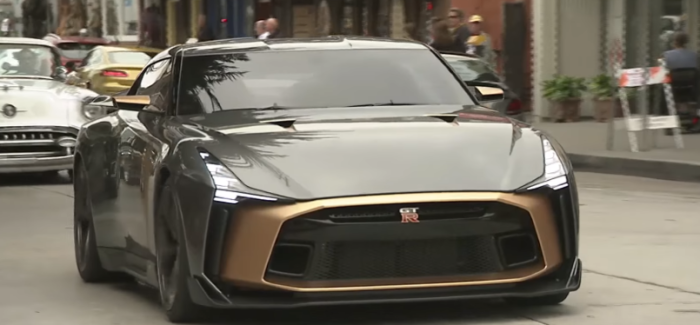 Nissan GTR50 By Italdesign – Video