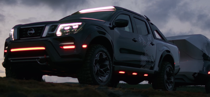 Nissan Navara Dark Sky Concept Truck – Video