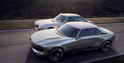 Peugeot e-Legend Concept Electric Car