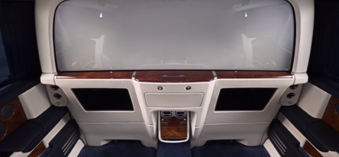Rolls Royce Privacy Suite For New Phantom – Video
