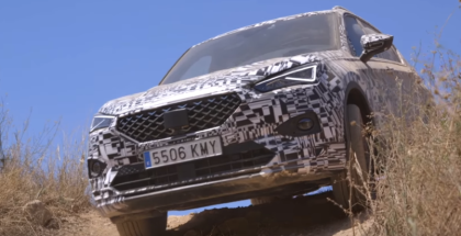 SEAT Tarraco Extreme Off-Road Testing