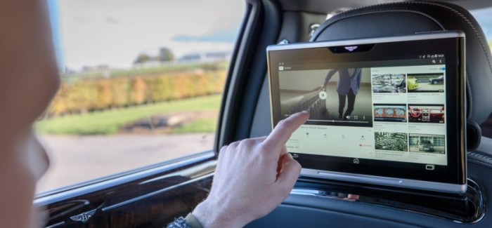 2019 Bentley Advanced Connectivity and In car WiFi System – Video