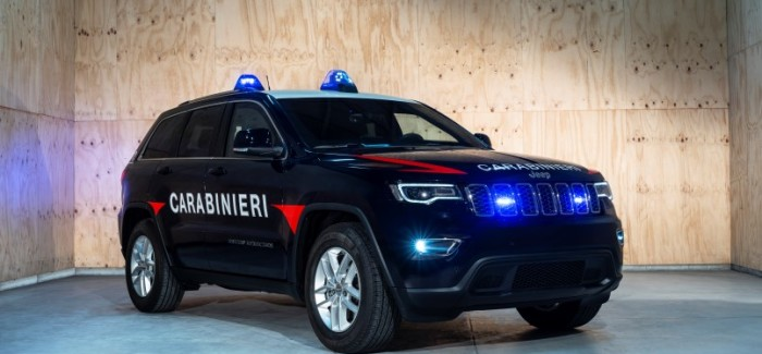 2019 Jeep Grand Cherokee Italian Police Car – Video