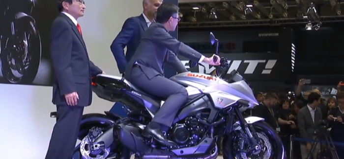 2019 Suzuki Motorcycle Unveiling – Video