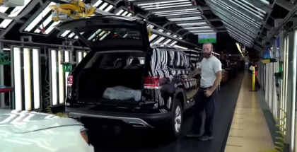 2019 VW Atlas Factory - Volkswagen
