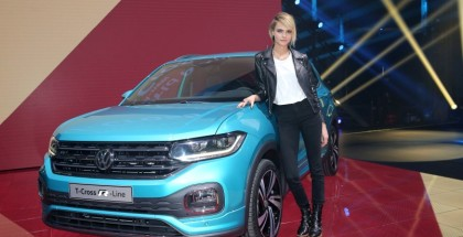 Cara Delevingne, British supermodel, actress, musician and testimonial for the T-Cross.