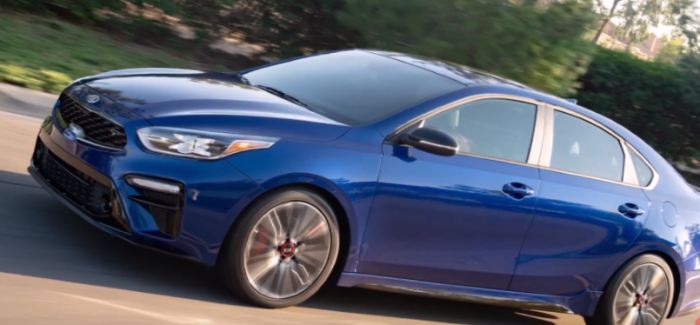 2020 Kia Forte Gt With 201 Horsepower Video Dpccars
