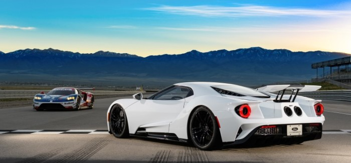 Ford GT production to 1350 vehicles
