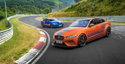Jaguar XE SV Project 8 & XJR575 Become Nurburgring Race Taxi