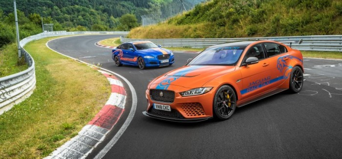 Jaguar XE SV Project 8 & XJR575 Become Nurburgring Race Taxi – Video