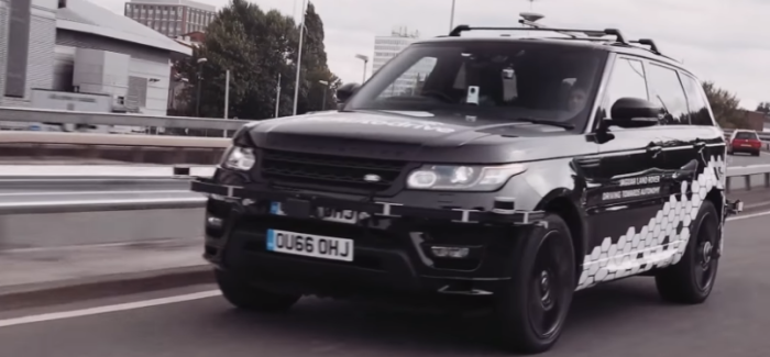 Self Driving Range Rover Sport – Video