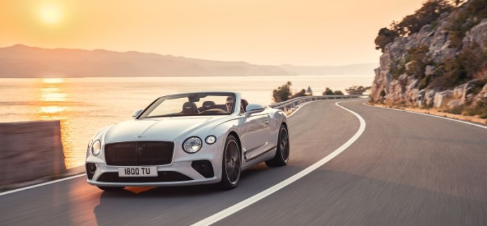 2019 Bentley Continental GT Convertible – Video