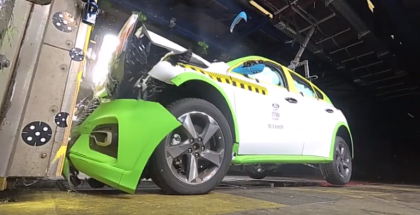 2019 Ford Focus Crash Test Facility In Germany