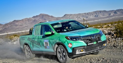 "The Ohio-based ""Ridgeline Rebels"" team #209 of engine test engineer, Maria Guitar, and vehicle safety test engineer, Michelle Klein, drove their 2018 Honda Ridgeline to a fourth place finish in the Crossover Class of the Rebelle Rally."