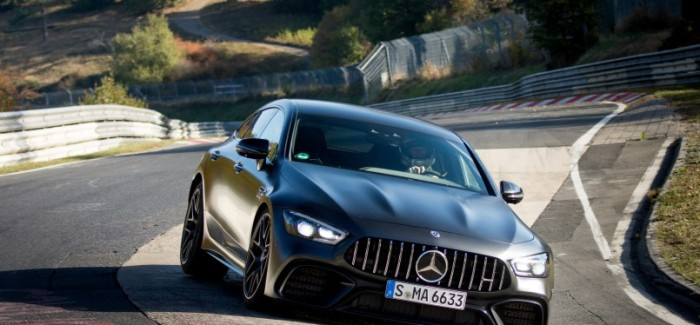 2019 Mercedes AMG GT63S Nurburgring Lap Record – Video