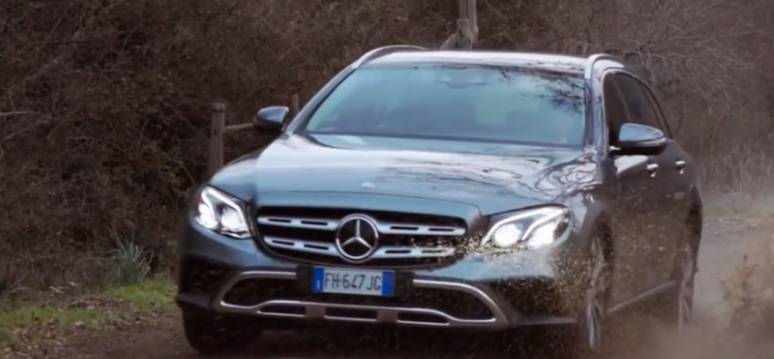2019 Mercedes E-Class E220d All Terrain – Video