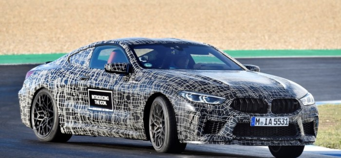 600HP+ BMW M8 Getting Ready For Production – Video