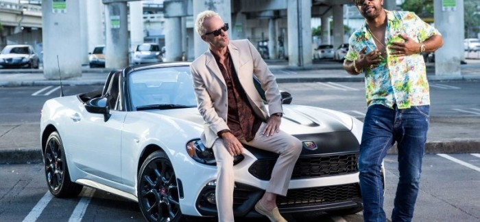 Abarth 124 spider In Sting & Shaggy Music Video