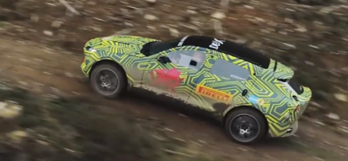 Aston Martin DBX SUV Testing – Video