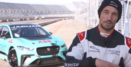 Jaguar I-PACE eTROPHY Final Pre Season Test