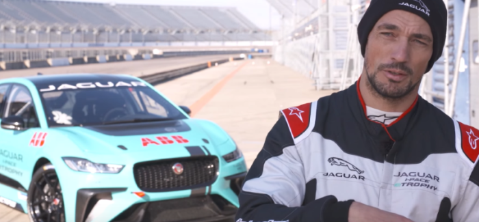 Jaguar I-PACE eTROPHY Final Pre Season Test – Video
