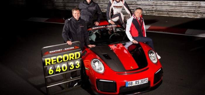 Porsche 911 GT2 RS MR Nurburgring Lap Record – Video