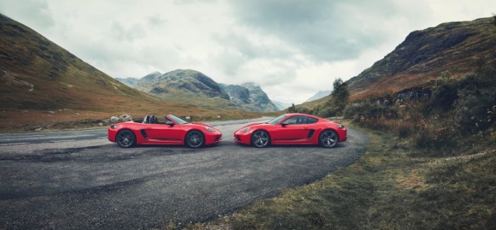 2019 Porsche 718 T Boxster and Cayman