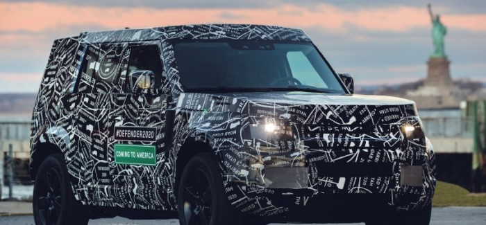 New 2020 Land Rover Defender Confirmed For USA Debut – Video