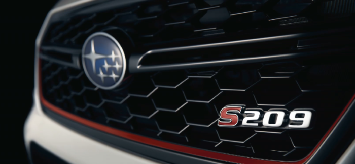 Subaru WRX STI S209 Coming To USA In 2019 – Video